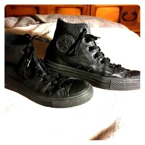 Leather Converse Allstars